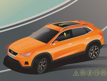 Pre-Crash Assist SEAT Ateca 2020